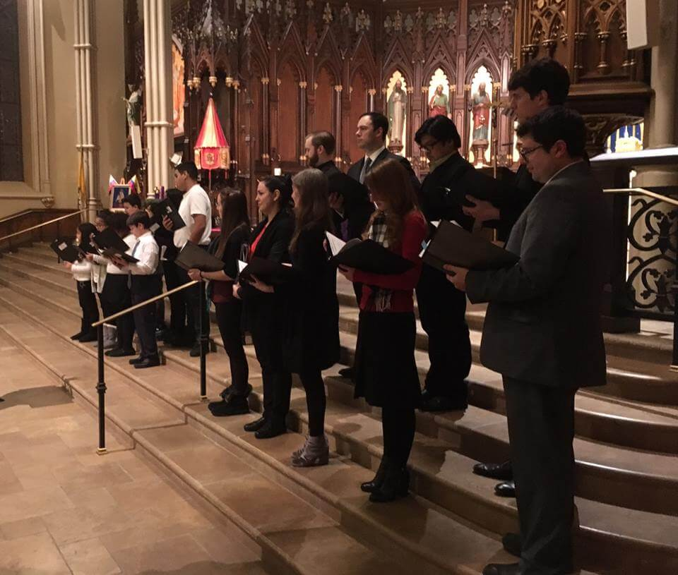 Basilica Voices at Lessons and Carols