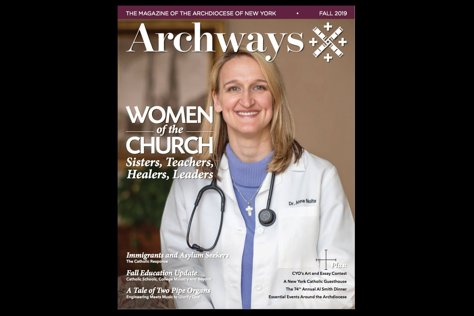 Cover or Archways Magazine Fall 2019