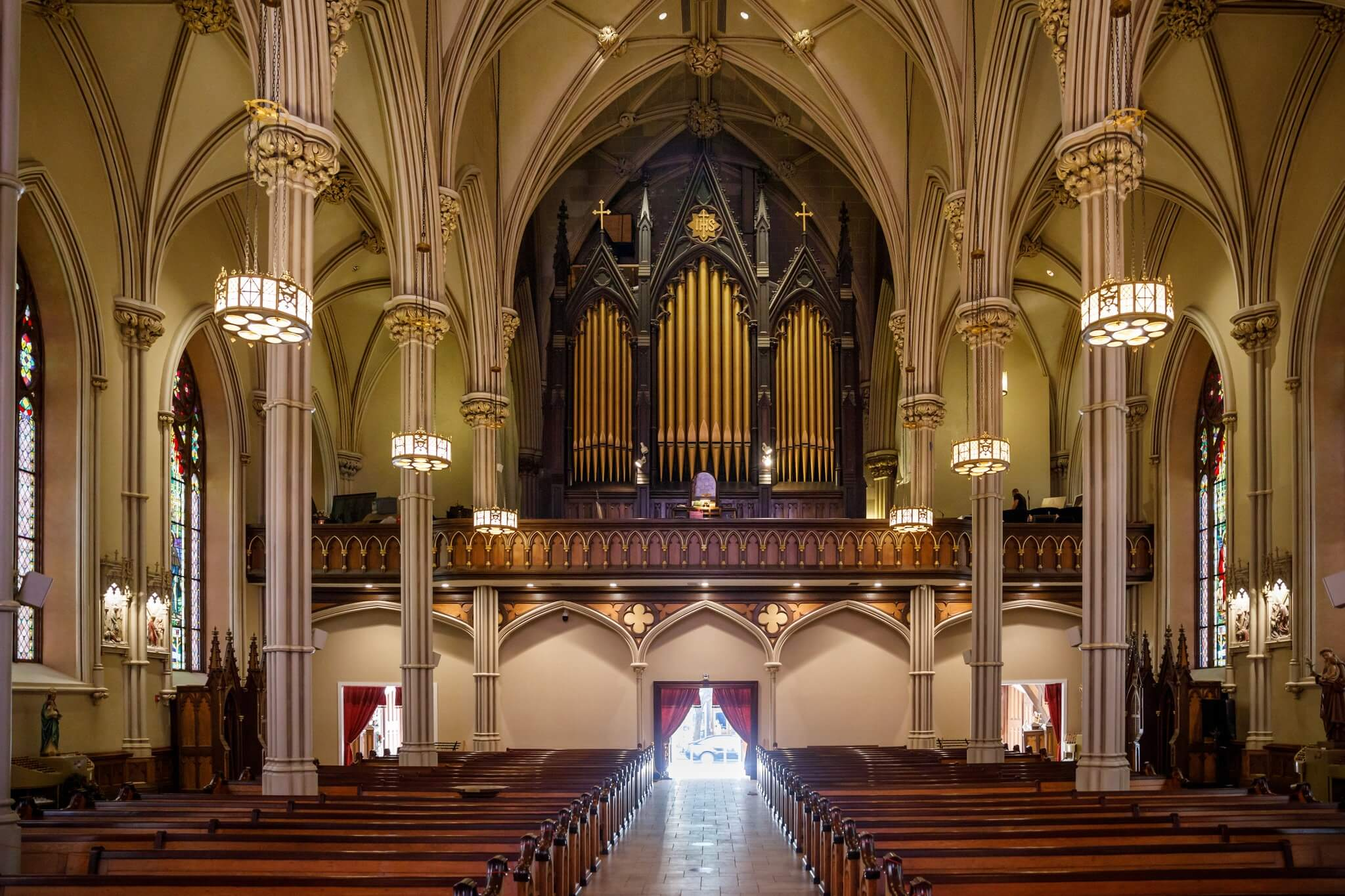 1868 Henry Erben pipe organ. Photo by Stefano Ukmar for The New York Times