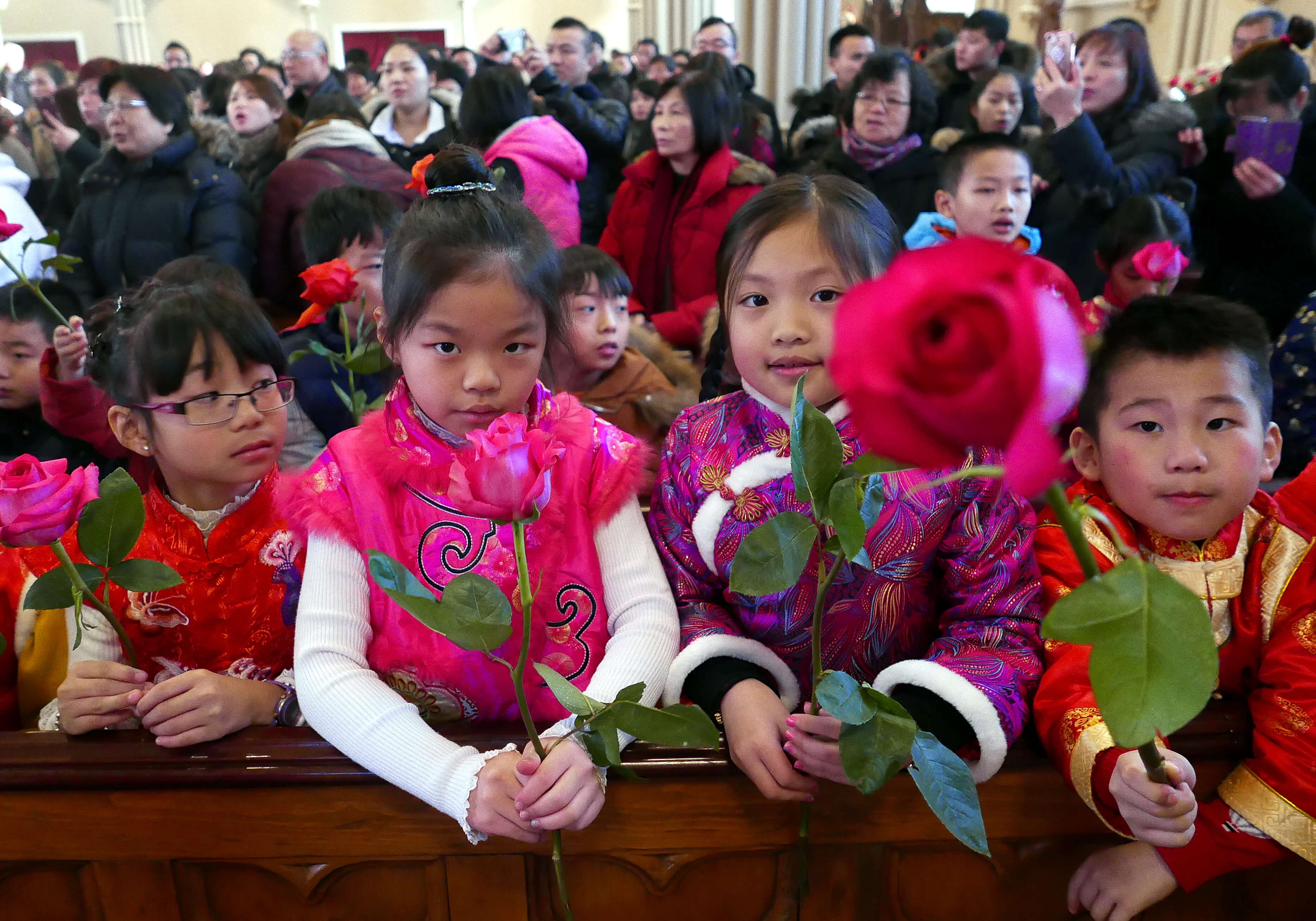 CNY: Our Lady of China Statue Underscores Old Cathedral's