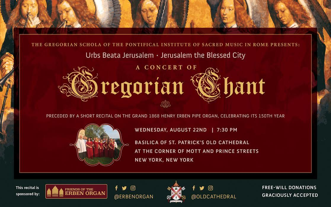 Gregorian Schola of the Pontifical Institute of Sacred Music in Rome